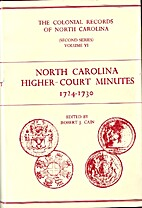 North Carolina Higher Court Minutes,…