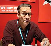Author photo. Midtown Comics signing @ New York Comic-Con 2007, photo by Lampbane