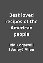 Best loved recipes of the American people by…
