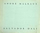 ANDRE MALRAUX-SALVADOR DALI by Malraux Andre