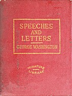 Speeches and Letters [Little Leather…