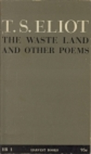 The Waste Land and Other Poems by T. S.…