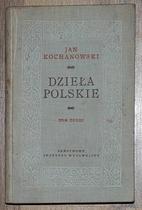 Dzieła polskie, t.3 by Jan Kochanowski