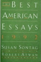 The Best American Essays 1992 by Susan…
