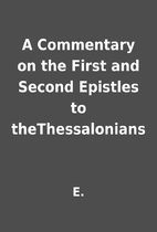 A Commentary on the First and Second…
