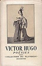 Poésies - tome 1 by Victor Hugo
