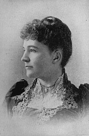 """Author photo. From """"The Congress of Women held in the Woman's Building, World's Columbian Exposition, Chicago, U.S.A., 1893"""""""