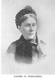 Author photo. Rachel Walter Hinkle Shoemaker (b.1838), Buffalo Electrotype and Engraving Co., Buffalo, N.Y.