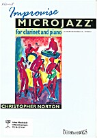 Improvise Microjazz for clarinet and piano…