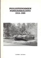 Puolustusvoimien Panssarikalusto, 1918-1989…