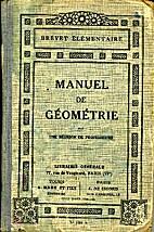 Manuel de géométrie Brevet élémentaire…