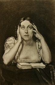 Author photo. Image from <b><i>Lettres inédites, 1812-1857</i></b> (1912) by Marceline Desbordes-Valmore