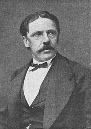 Author photo. Abraham Viktor Rydberg (1828-1895), 1876 photograph
