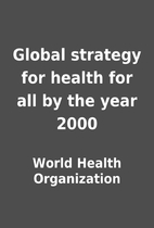 Global strategy for health for all by the…