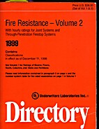 Fire Resistance Directory 1999