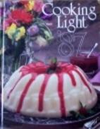 Cooking Light 1987 by Robert A. Barnett
