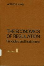 Economics of Regulation: Institutional…