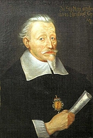 Author photo. Portrait by Christoph Spetner, Leipzig, around 1650/1660 (Wikimedia Commons)