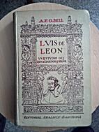 Luis de León. Un estudio del Renacimiento…