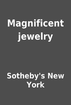 Magnificent jewelry by Sotheby's New York
