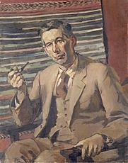 Author photo. Portrait in the Nat. Mus. Wales by Walter Evans.