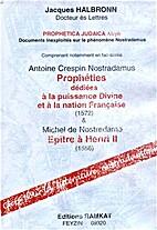 Prophetica judaica aleph: documents…
