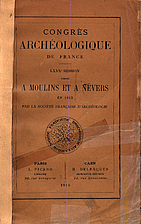France: 1913, 80e Congrès archéologique de…
