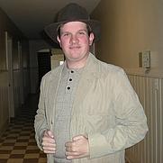 Author photo. Max West, circa 2013, Greensboro, North Carolina