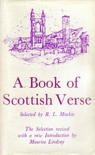A Book of Scottish Verse by R.L. Mackie