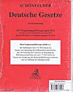 Deutsche Gesetze 157.…