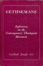 Gethsemane: Reflections on the Contemporary…