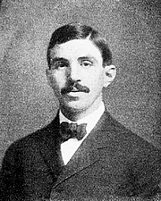 Author photo. Edward Kasner in 1907 [source: Popular Science Monthly Volume 70]
