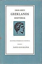 Greklands historia by Erik Gren