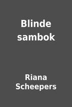Blinde sambok by Riana Scheepers