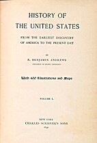 History of the United States, Vol. 1 by E.…