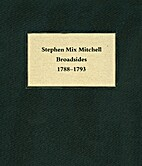Stephen Mix Mitchell: A Collection of…