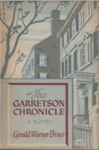 The Garretson Chronicle by Gerald Warner…