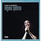 Live In London (CD/DVD) by Regina Spektor