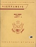 Vietnamese, Basic Course, Vol. II…