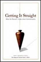 Getting it Straight: What the Research Shows…