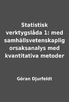 Statistisk verktygslåda 1: med…