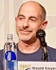 Author photo. David Goyer at the 2013 San Diego Comic-Con International - photo by Sue Lukenbaugh