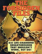 The Forbidden Files by Inc. Boardroom
