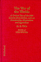 The War of the Worlds: A Critical Text of…