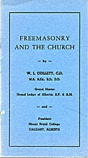 Freemasonry and the Church by W.J. Collett