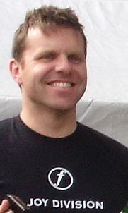 Author photo. Gareth Roberts, 2009