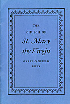 The church of St. Mary the Virgin, Great…