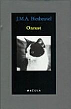 Onrust by J.M.A. Biesheuvel