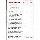 Knistern. Gedichte und Prosa by Judith…