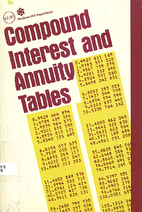 Compound Interest and Annuity Tables…